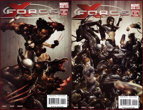 X-Force #1 & #2