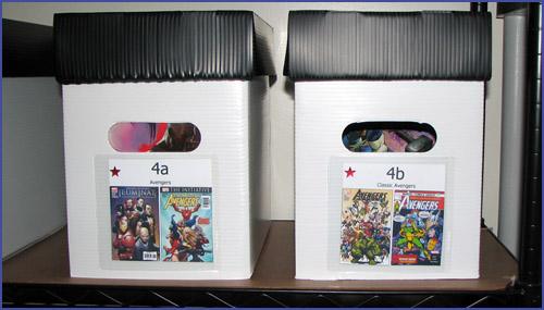 Corrugated Plastic Comic Boxes