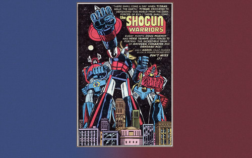 Shogun Warriors Ad