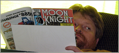 reading Moon Knight
