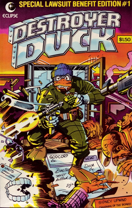 018-Destroyer Duck-01-Jack Kirby