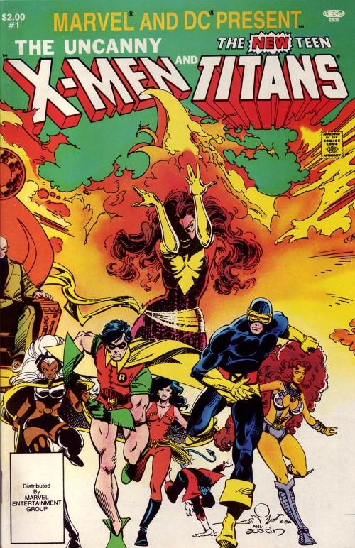 059-Uncanny X-Men and the New Teen Titans-Walt Simonson
