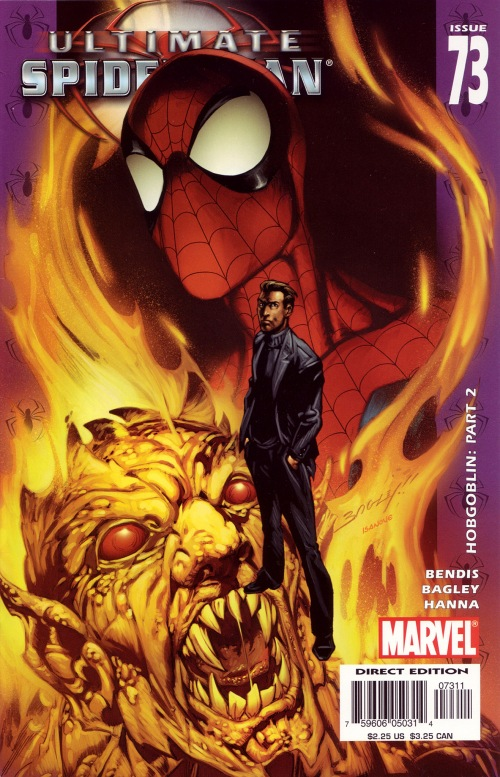 090-Ultimate Spider-Man-73-Mark Bagley